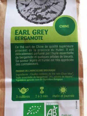 Thé vert Earl Grey Bergamote - Product