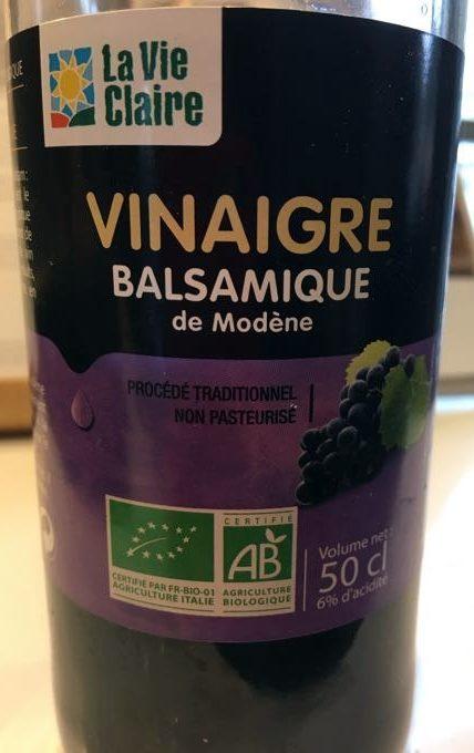 Vinaigre Balsamique de Modène - Product