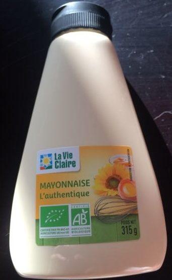 Mayonnaise L'authentique - Produit