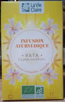 Infusion ayurvédique Vata - La paix intérieure - Produit