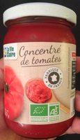 Concentré de tomates - Produit