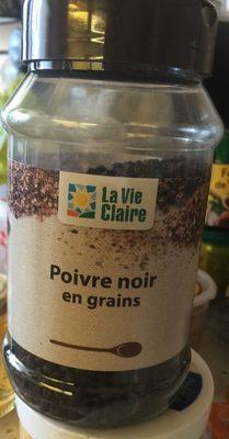 Poivre noir en grains - Produit - fr