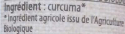 Curcuma - Ingrédients - fr