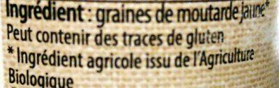Graines de Moutarde Jaune - Ingrédients - fr
