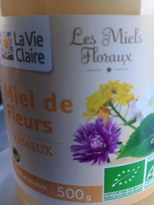 Miel de fleurs crémeux - Produit