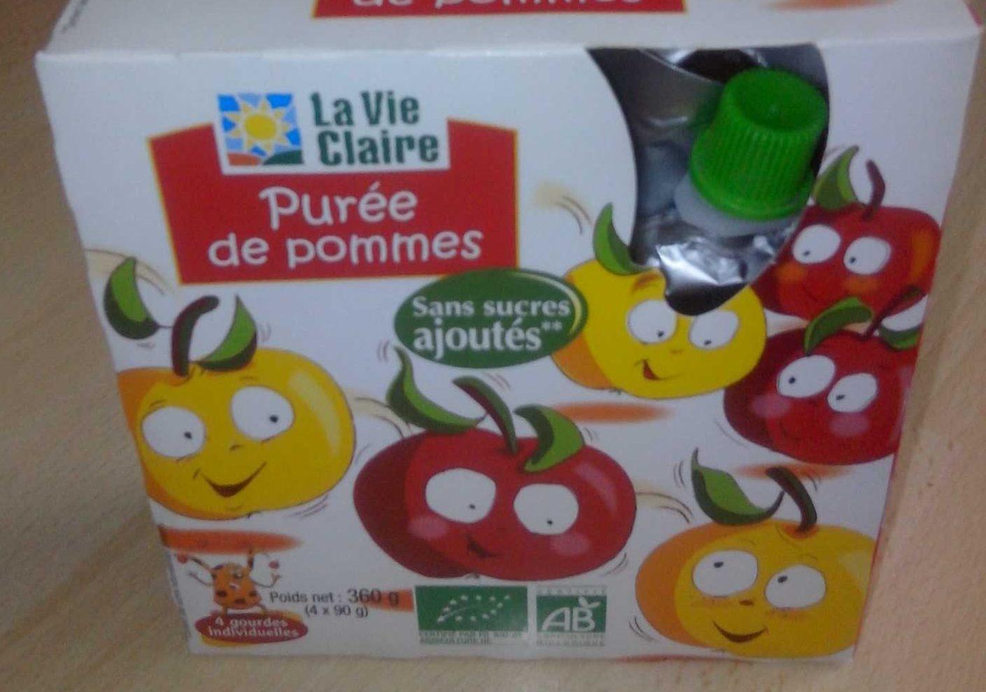 Purée de Pommes Sans Sucres Ajoutés - Produit - fr