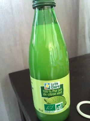 100% PUR Jus De Citron - Produit