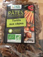 Tortils aux cèpes - Product