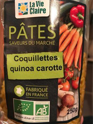 Coquillettes quinoa carotte - Produit - fr