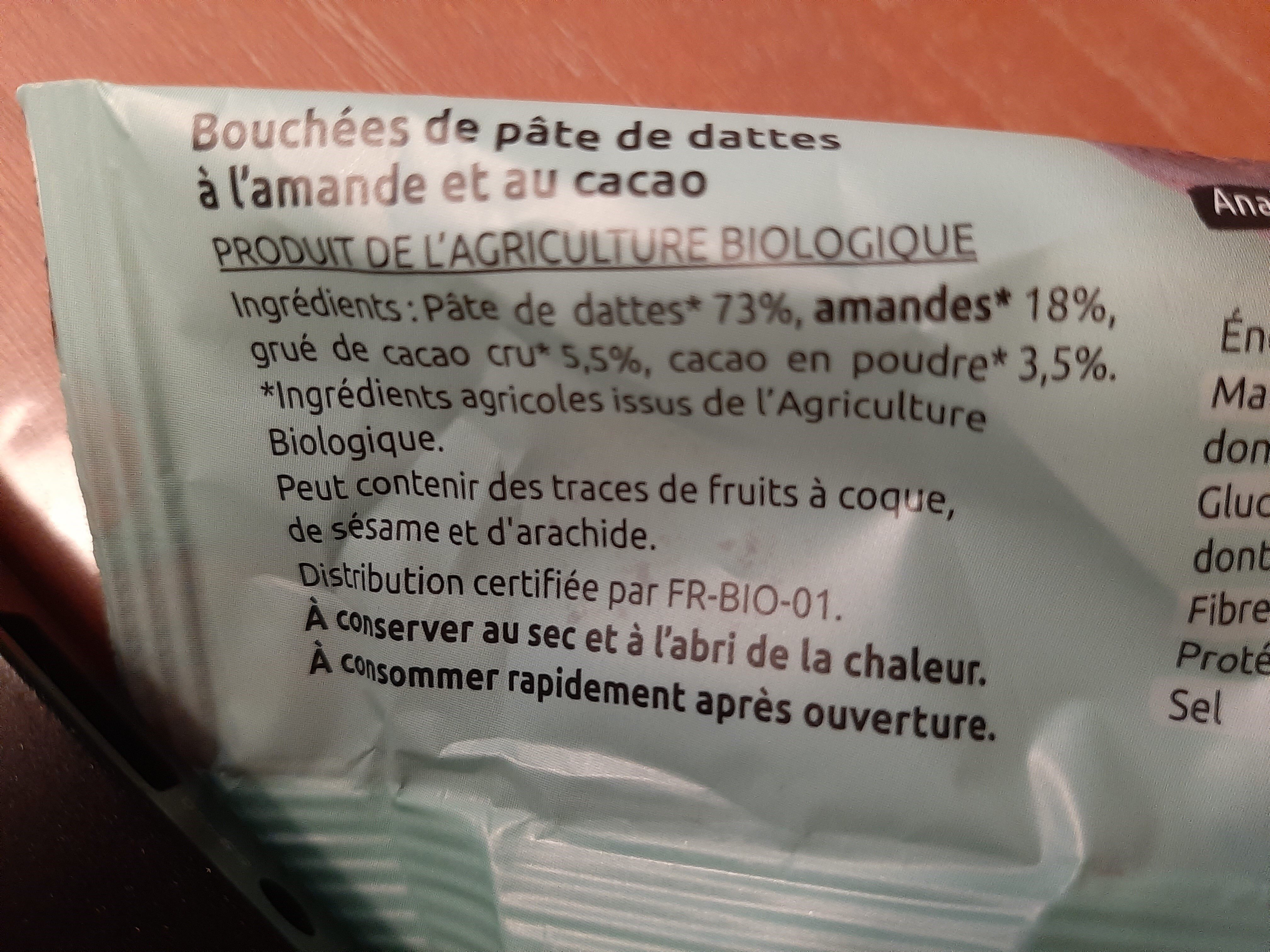 Nutri balls - Ingrédients - fr