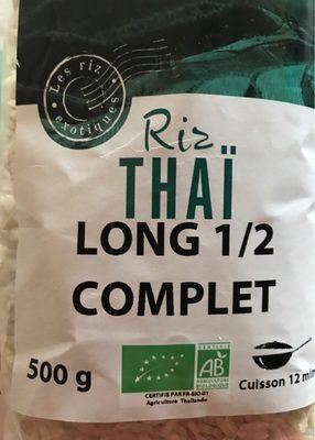 Riz Thaï long 1/2 complet - Produit - fr