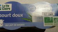 Yaourt Doux Brebis - Produit - fr
