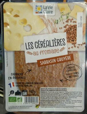 2 Galettes de Céréales Sarrasin Gruyère - Produit