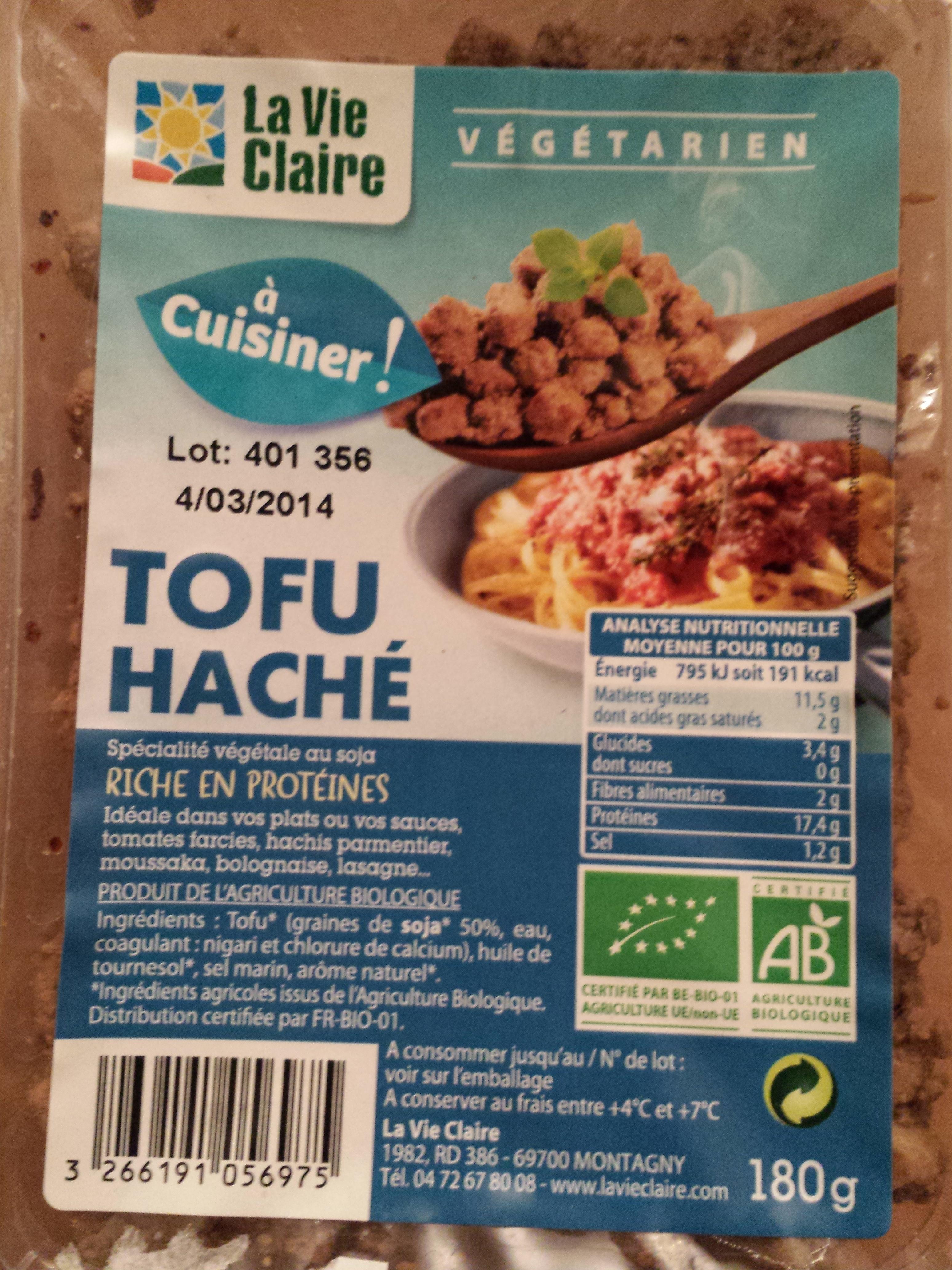 Tofu haché bio - Prodotto - fr