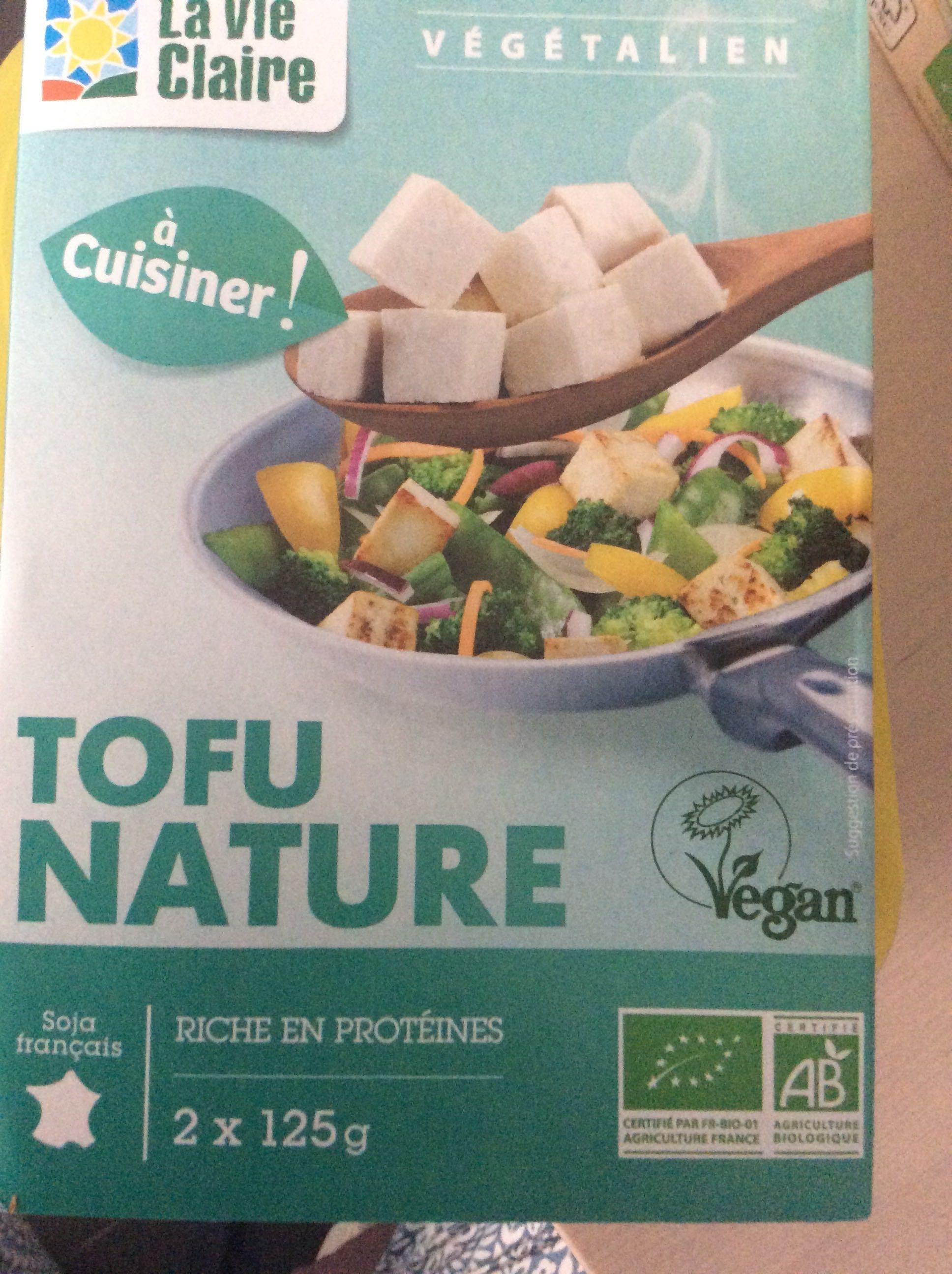 Tofu Nature - Produit