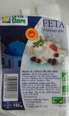 Feta fromage grec - Product - fr