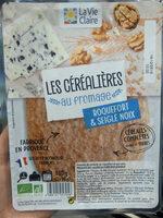 2 Galettes de Céréales - Roquefort Seigle et Noix - Produit