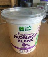 L'onctueux fromage blanc 0 % - Produit