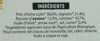 Burger légumineuses aux pois chiches - Ingredients