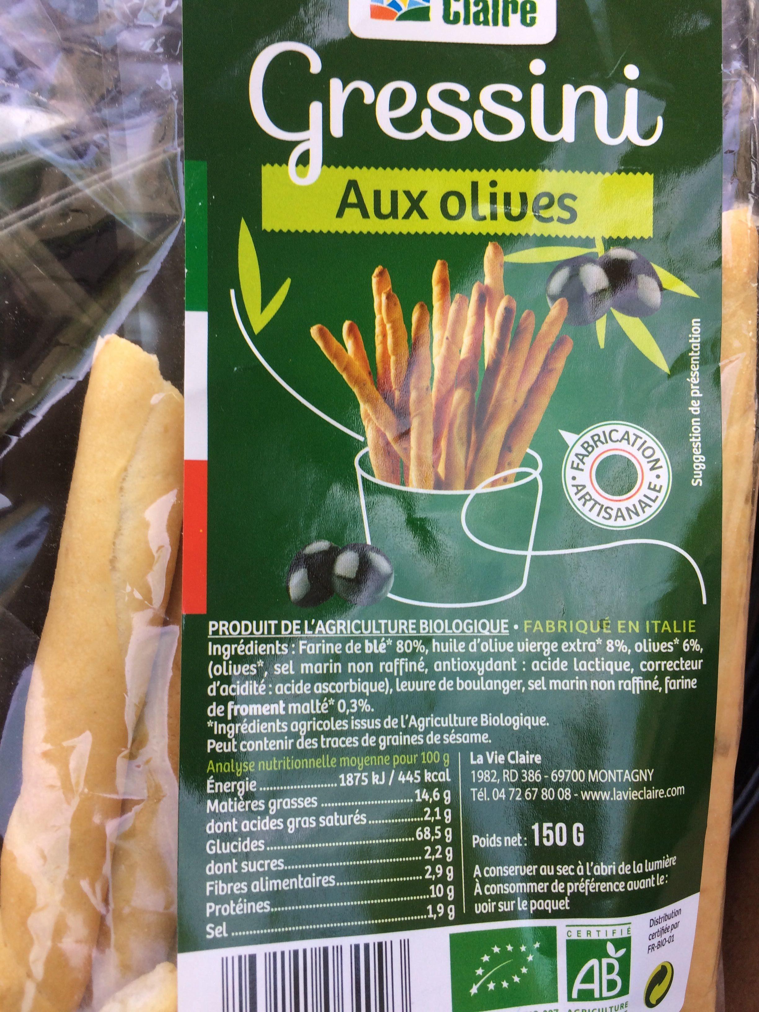 Gressini aux Olives - Product