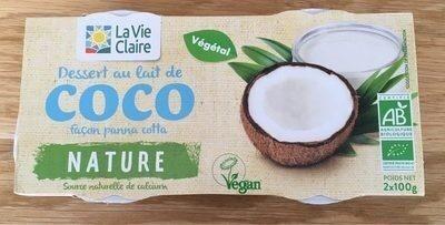Dessert au lait de coco façon panna cotta - Product - fr