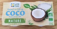 Dessert au lait de coco façon panna cotta - Product