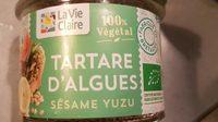 Tartare d algues au sésame et yuzu - Product