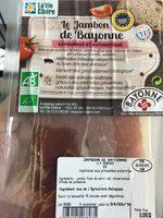 Le jambon de Bayonne - Product