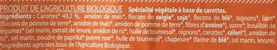 Burgers Aux Carottes - Ingrediënten
