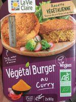 Vegetal burger au curry - Product