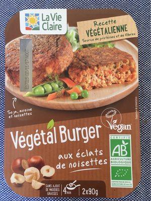 Vegetal burger noisettes - Produit