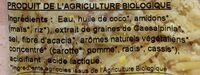 Le rapé vegan façon cheddar - Ingrediënten - fr
