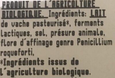 Gorgonzola AOP - Ingrédients - fr