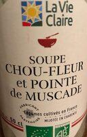 SOUPE CHOU-FLEUR et POINTE DE MUSCAT - Product