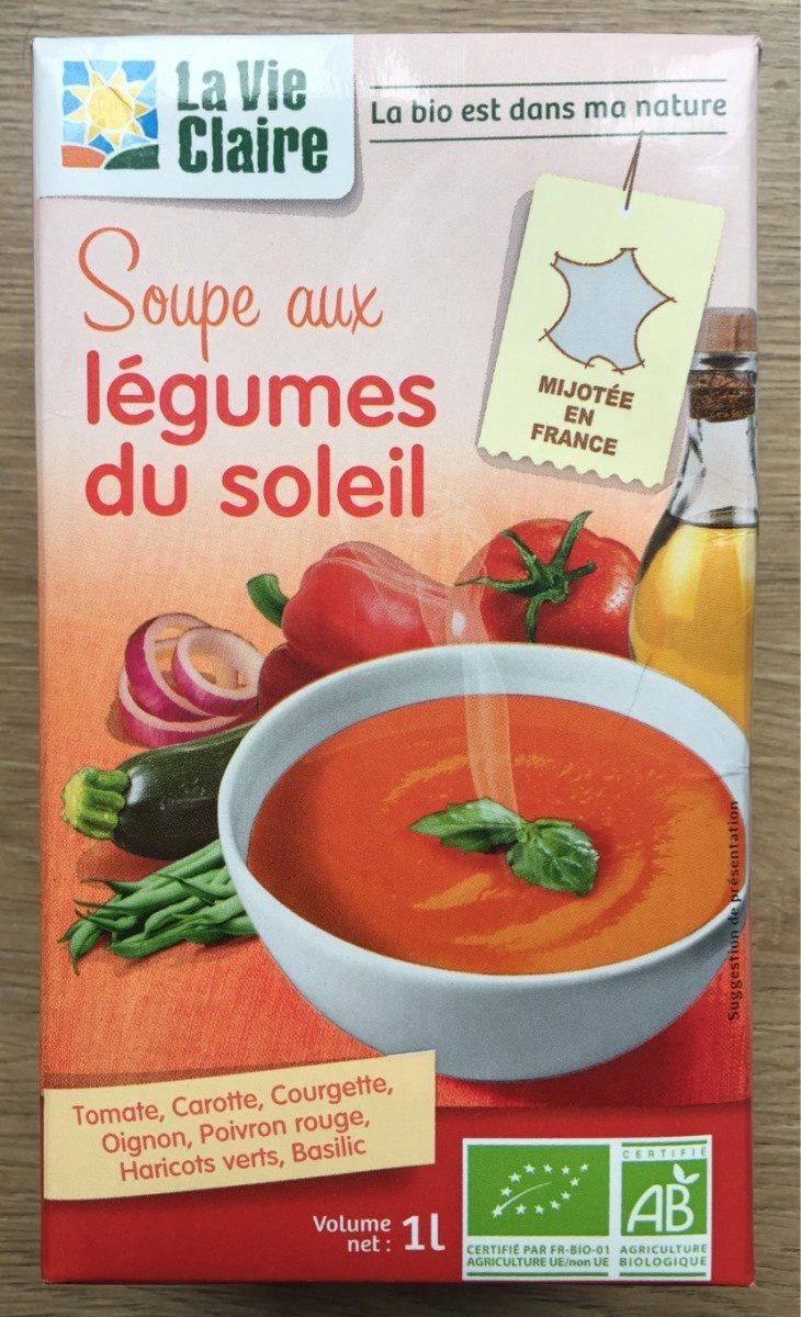 Soupe aux légumes du soleil - Produit