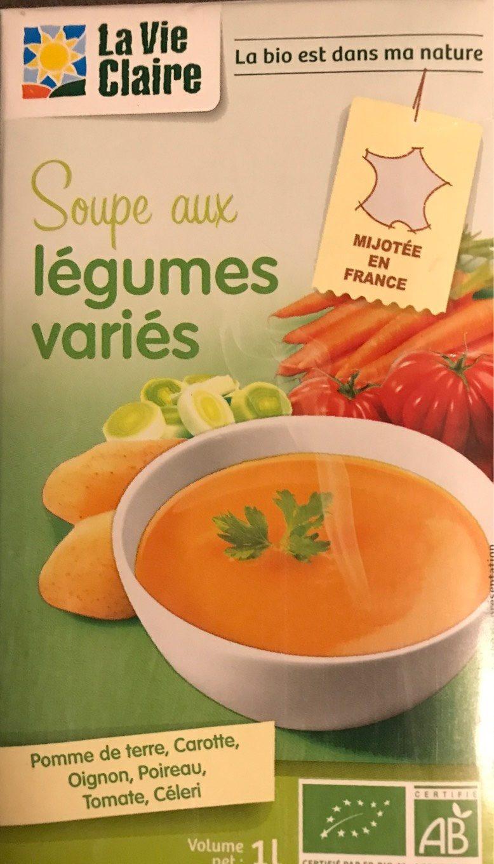 Soupe aux Légumes Variés - Product - fr