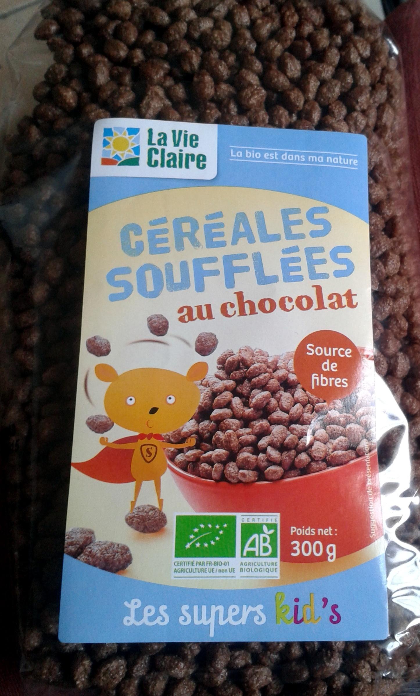 Céréales soufflées au chocolat - Produit - fr