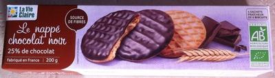 Le nappé chocolat noir - Product