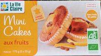 Mini cakes aux fruits - Produit - fr