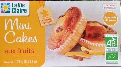Mini cakes aux fruits - Produit