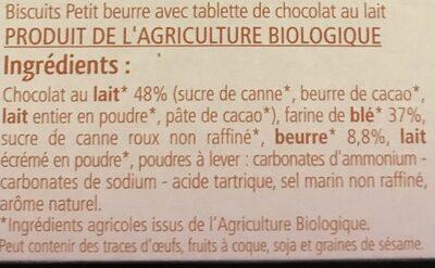 Petit Plaisir Au Chocolat Au Lait - Ingrédients - fr