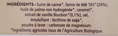 Gaufrettes fourrées - Ingredients