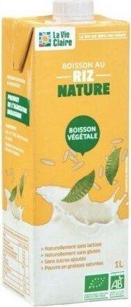 Boisson au Riz Nature - Produit - fr