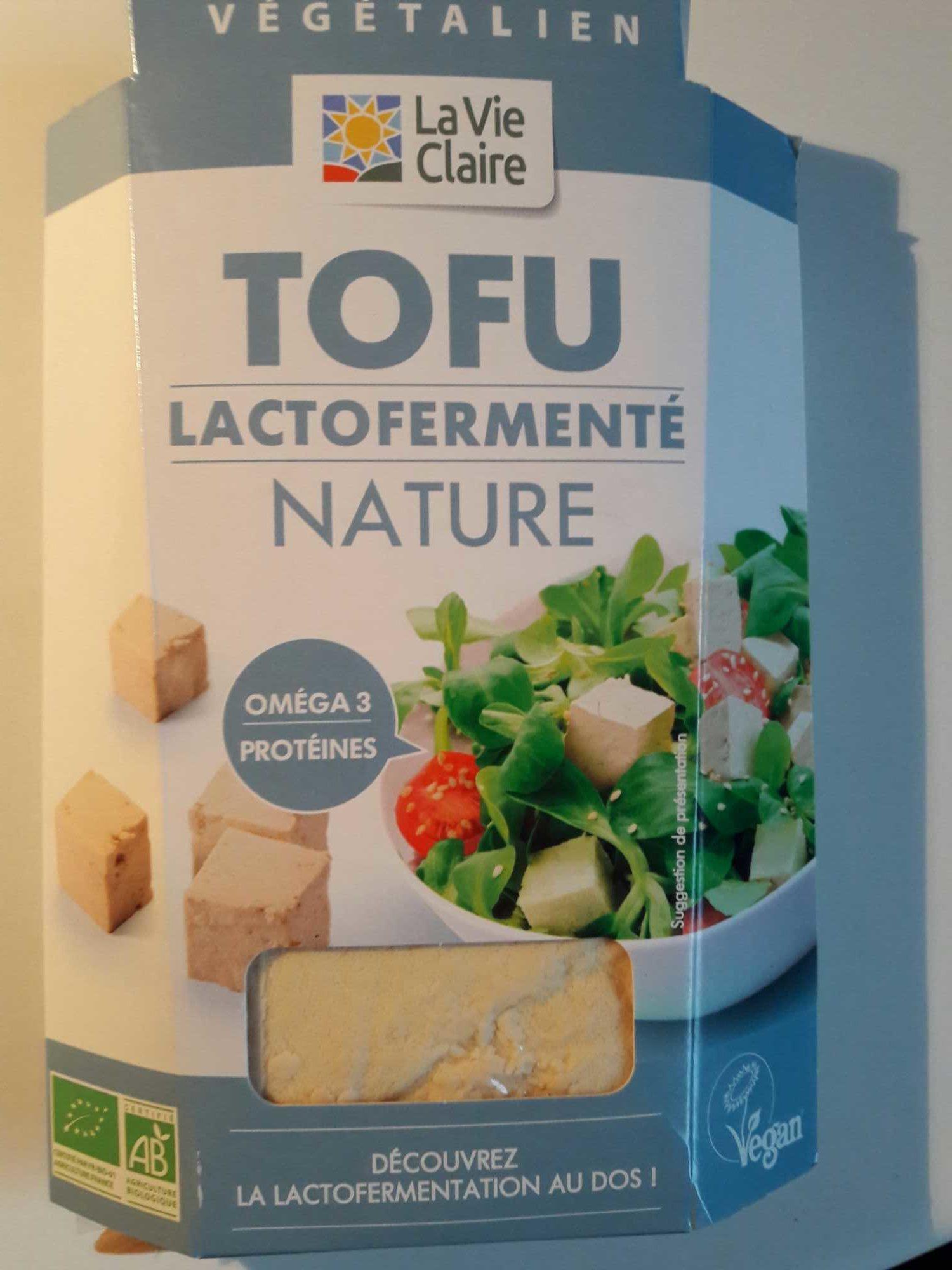 Tofu lactofermenté nature - Produit