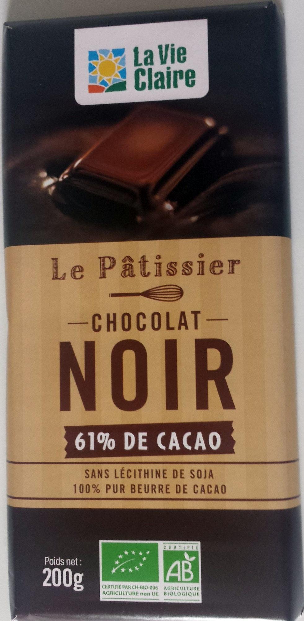 Le Pâtissier Chocolat noir 61% de cacao - Product