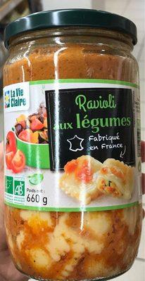 Ravioli aux Legumes - Product
