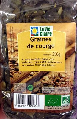 Graines de courge la vie claire 250 g for Mauve la vie claire