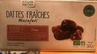 Dattes fraiches mazafati - Product - fr