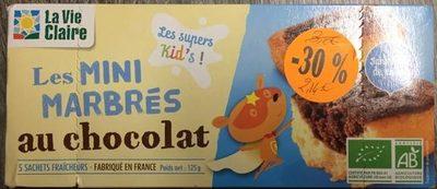 Les Mini Marbrés au chocolat - Product