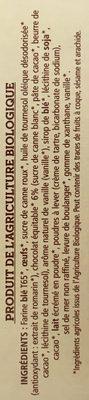 Les Mini Marbrés au chocolat - Ingredients